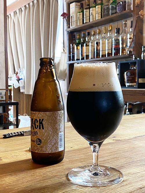 うまそうな新潟麦酒ブラックZEROZERO(ゼロゼロ)ノンアルコールビール