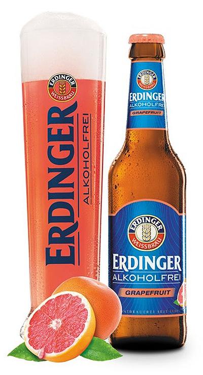 エルディンガー・グレープフルーツフレーバー「ERDINGER alcohol-free grapefruit」