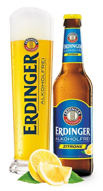 エルディンガー・レモンフレーバー「ERDINGER alcohol-free lemon」