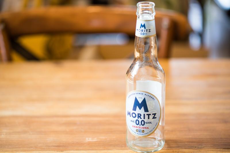 モリッツアクア0.0のノンアルコールビール