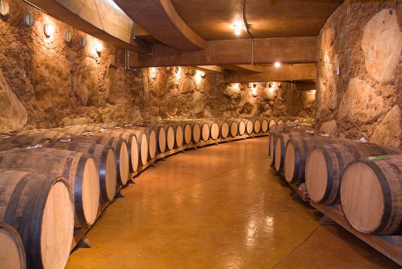 ワインの熟成庫