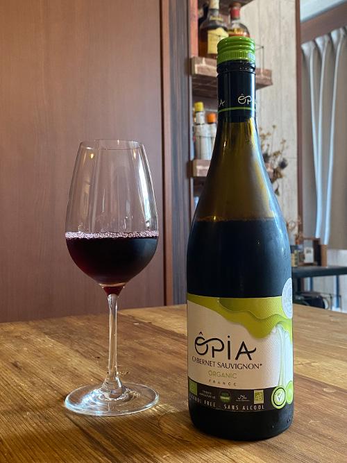 オピア カベルネソーヴィニヨン オーガニック ノンアルコール 赤ワイン