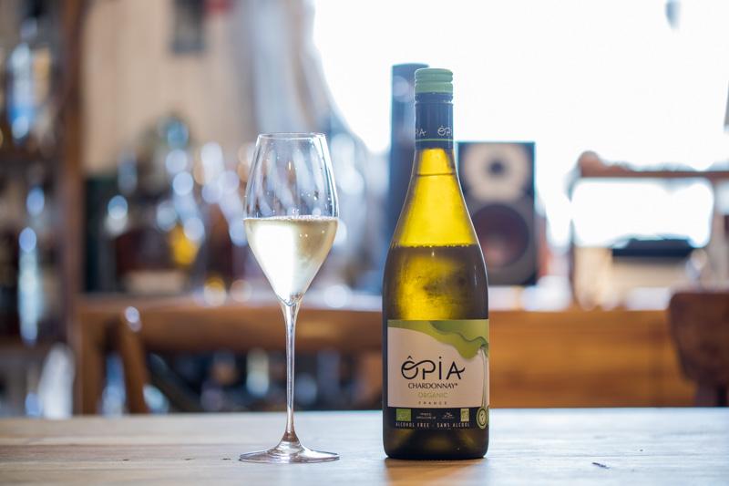 オピア シャルドネ オーガニック ノンアルコール NV 白ワインの味わいレビュー