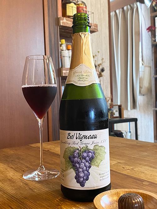 ベルビニョー ロッソ(赤)ノンアルスパークリング赤ワイン